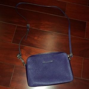 MICHAEL KORS Crossbody Purse (Purple)